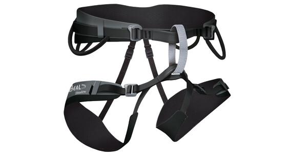 Beal Shadow - Arnés de escalada - Gr. 1 gris/negro
